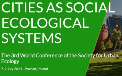 """International Conference """"Cities as social-ecological systems"""" SURE 2020"""