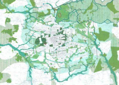 Blue-Green Network (City Masterplan 2010)